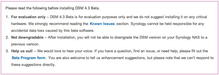 Real Solutions Haarlem B V  » Synology lanceert DSM 4 3 beta